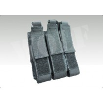 TMC MOLLE Triple Magazine Pouch for MP7 (Black)