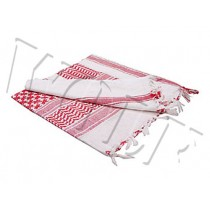 Webtex Shemagh - Red/White