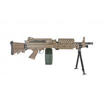 A&K MK46 MOD 0 (M249) Support Rifle (Tan)