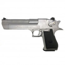 Cybergun Magnum Research Inc. Desert Eagle 50AE GBB Pistol Chrome