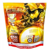 G&G P.S.B.P Competition Grade 0.25g 4000 6mm BB 1kg Bag