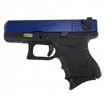WE Glock 26 GBB Pistol (Blue)