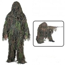 Camosystems Jackal Ghillie Short Suit Woodland