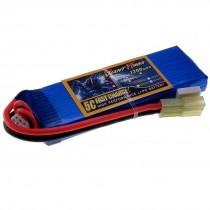 7.4V 1300mAh 25C LiPo Battery Giant Power
