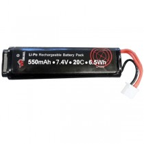 7.4v 550mah Lipo Airsoft Battery for Tokyo Marui AEP