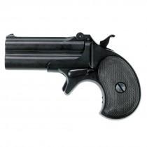 Maxtact Derringer Full Metal Gas Airsoft Double Barrel Pistol - Black