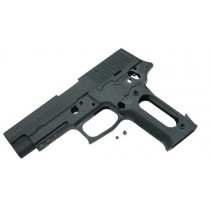 Guarder Aluminum Slide & Frame - TM P226 Rail (Black/Blank)