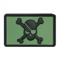 JOLLY ROGER Tactical Rubber Velcro Patches
