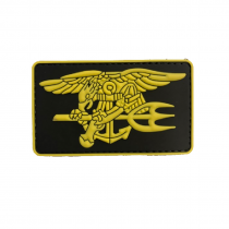 NAVY SEAL EAGLE TRIDENT Tactical Rubber Velcro Patches
