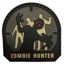 ZOMBIE HUNTER Tactical Rubber Velcro Patches