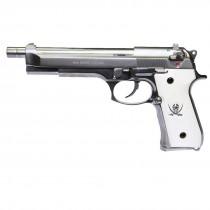 WE M92L Cutlass GBB Pistol (Silver)