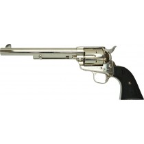 "Tanaka Colt SAA .45 7 1/2"" Peacemaker Cavalry Nickel"