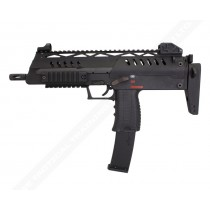 WE SMG-8 (MP7) Black GBB Submachine Gun airsoft