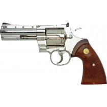 "Tanaka Colt Python .357 4"" R-Model Stainless Airsoft Revolver"