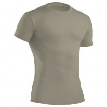 Under Armour Tactical HeatGear Compression S/S Tee (Sand) - XXL