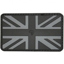 Viper Subdued Rubber Union Jack Patch - Black
