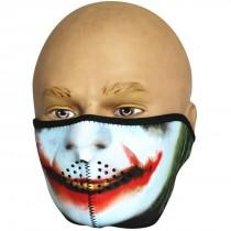 Viper Neoprene Half Face Mask - Joker