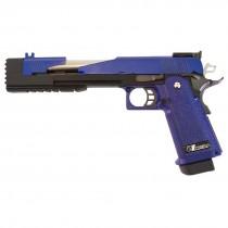 """WE Hi-Capa 7"""" Dragon A GBB Pistol (Blue)"""