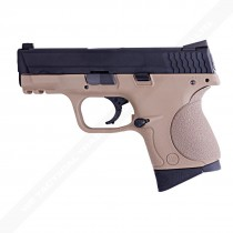 WE M&P Compact Little Bird GBB Pistol Flat Dark Earth Airsoft