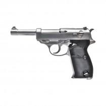 WE P38 GBB Pistol (Silver)