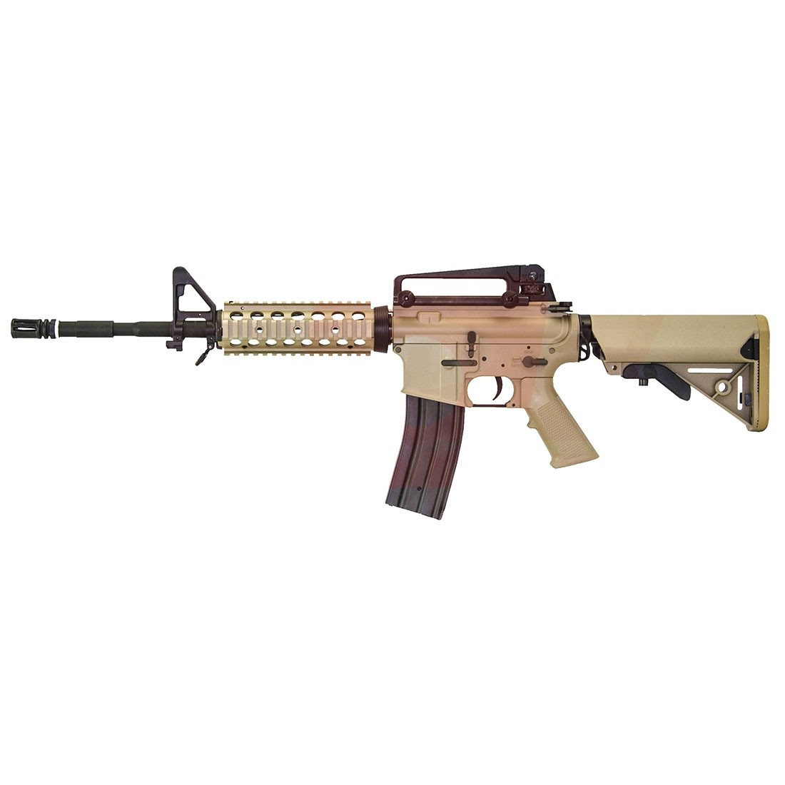 Shooting In Delta Colorado: Nuprol Delta SOPMOD AEG Rifle (Tan