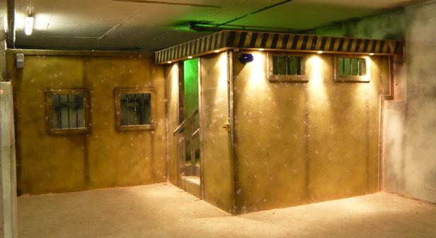 Airsoft Skirmish Bunker 51